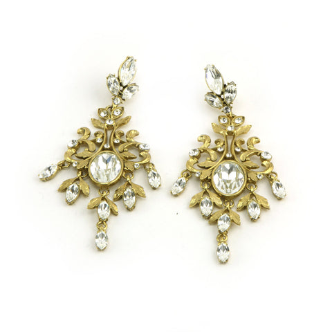 Crest Earrings