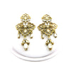 Navette Fan Wide Earrings