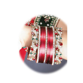 Bejewelled Chura Bangle Set