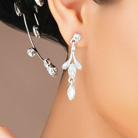 Floral Filigree Earring