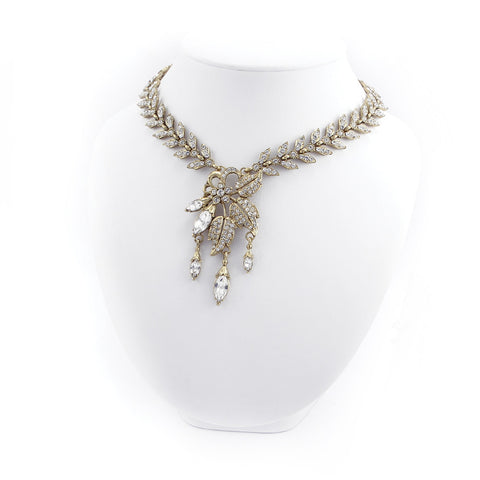 Feather Vine Necklace