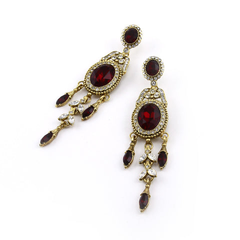 Amulet Drop Earring