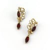 Amravati triple drop Earring