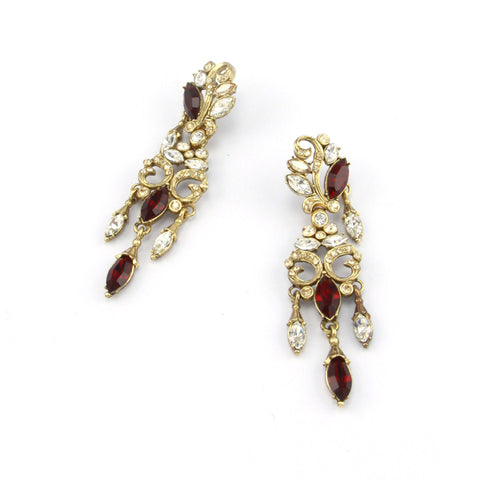 Amravati Long Chandelier Earrings