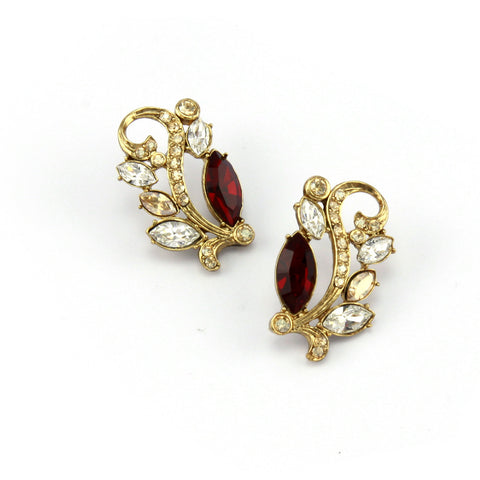 Amravati Triple Petite Earrings