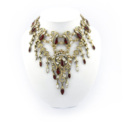 Amravati Drop Necklace