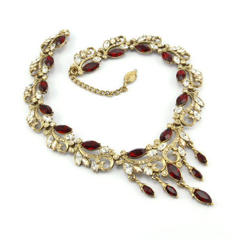 Amravati Triple Drop Necklace