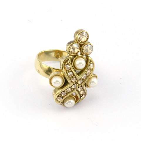 Zareen Cross Ring