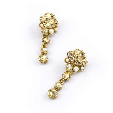 Cluster Nava Drop Earrings