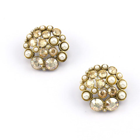 Cluster Nava Earrings