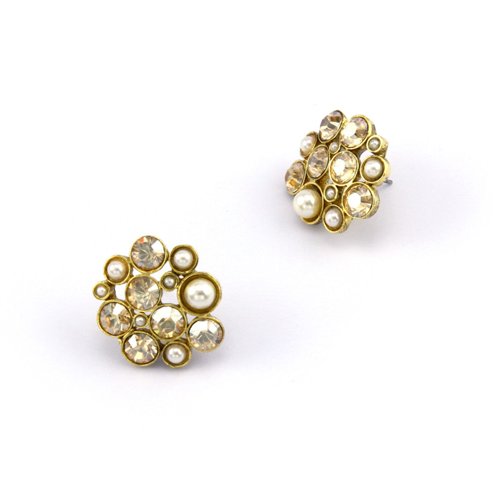Cluster Nava Petite Earrings