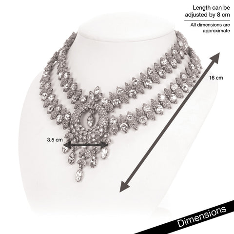 Simply Talaaj Bridal Necklace