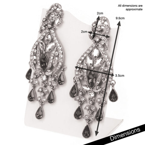 Amarula Chandelier Earrings