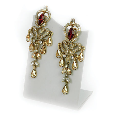 Aerides Droplet Earrings