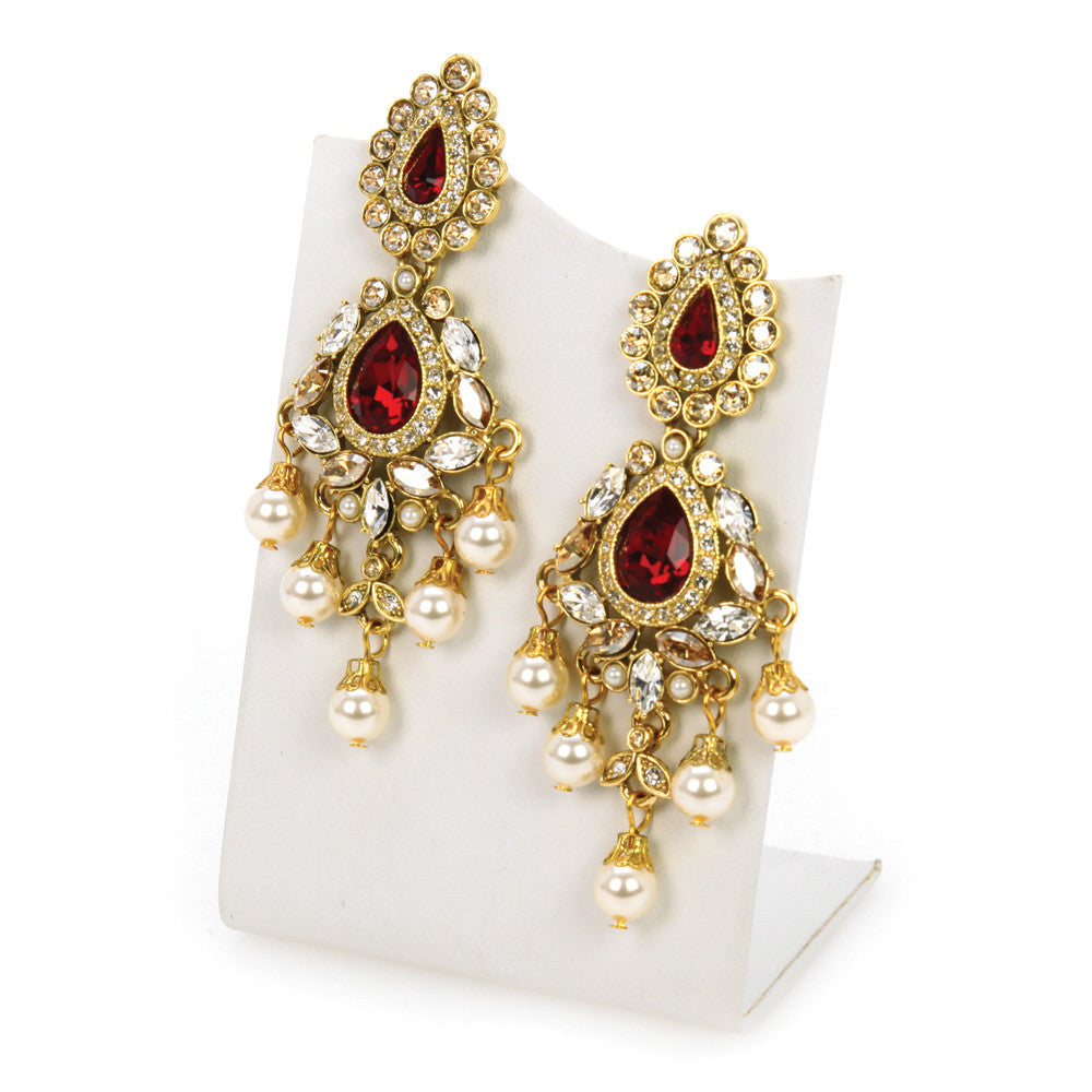 Ranipur Fan Earrings