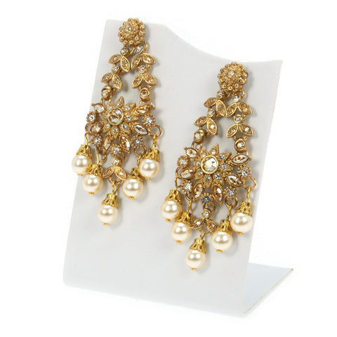 Manasa Flower Earrings