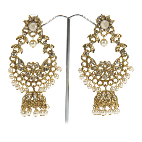 Mahal Jhumki Earrings