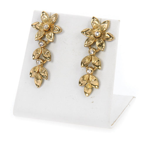 Simply Petal Flower Earrings
