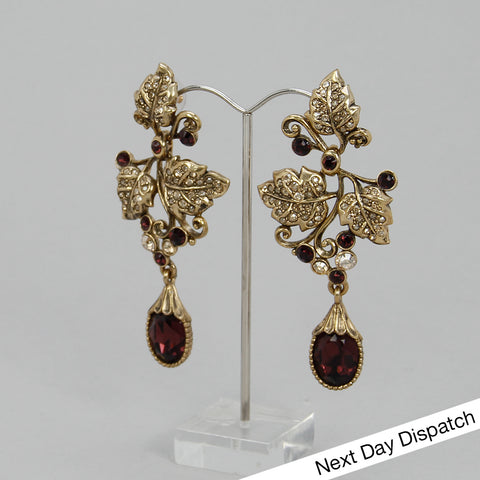 Vine Drop Earrings (BUY AS SEEN)