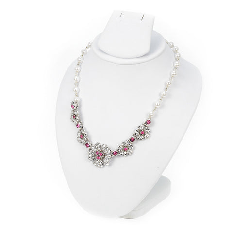 Bloosom Pearl Necklace