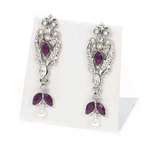 Floral Designer Earrings