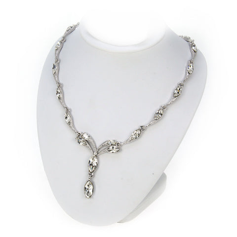 Crystal Phyllis Necklace