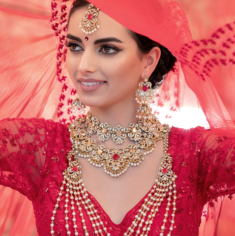 Adeema Elite Bridal Set