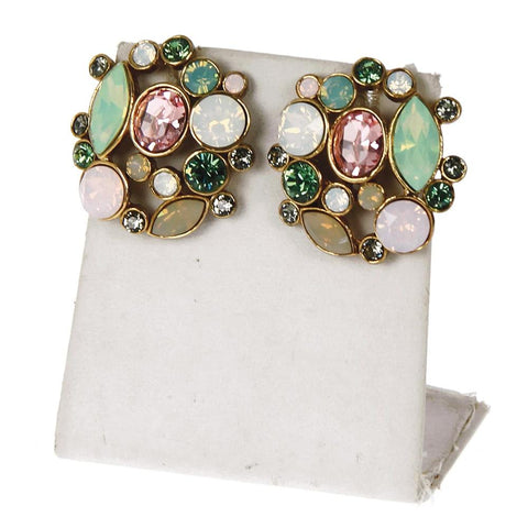 Multi Cleopatra Stud Earrings (LIMITED EDITION)