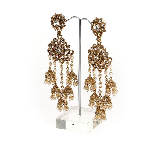 MANASA DESIGNER DROP EARRINGS (LIMITED EDITION)