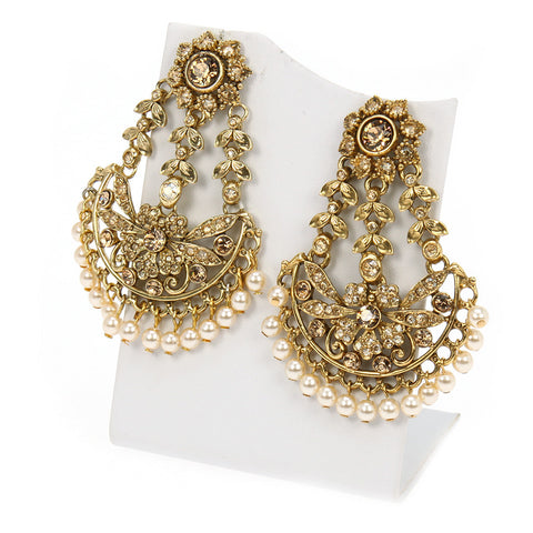 Mahal Fan Earrings