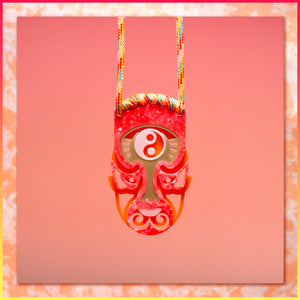 小影戲 Small Yingxi Face Medallion