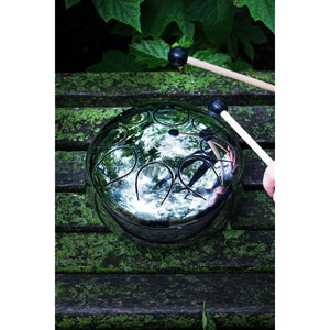 "KONG Drum ""KONG 空"" Mirror Reflective Steel Drum-Decor-KONG Drum-30cm F zhǐ 徵-CHOP SUEY CLUB"