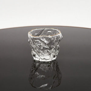 Tall Glacier Glass Cup