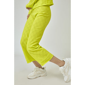 Holey Neon Pants