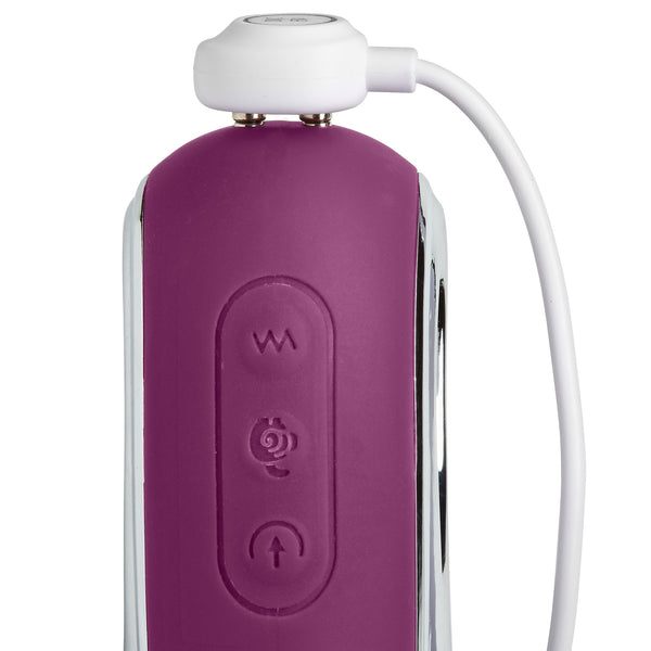 Pro Sensual Air Touch VI G Spot Come Hither Motion Rabbit Dual Function Clitoral Suction (Plum color)