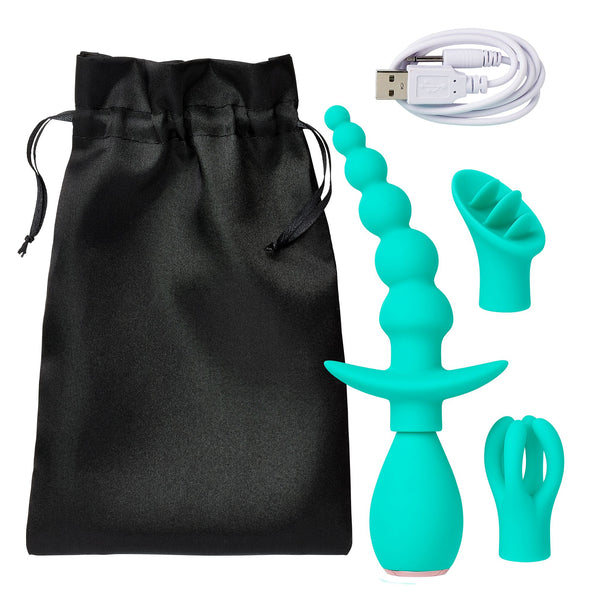 Cloud 9 Health & Wellness Anal Clitoral & Nipple Massager Kit