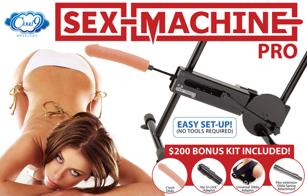 Cloud 9 Novelties Sex Machine Pro III