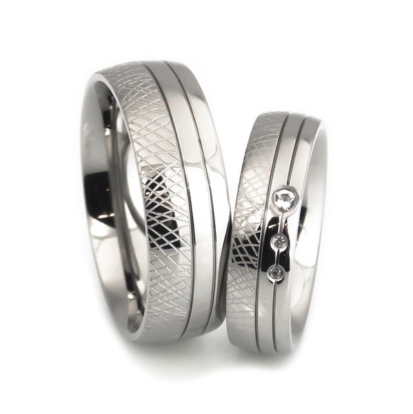 matching titanium wedding bands unique crafted
