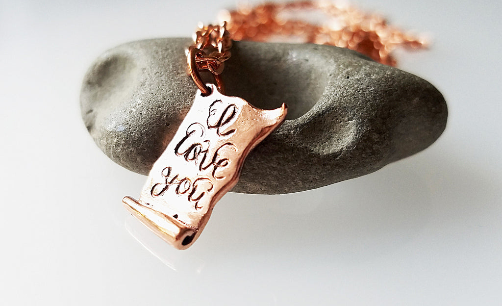 Copper Love Letter personalize it with your words