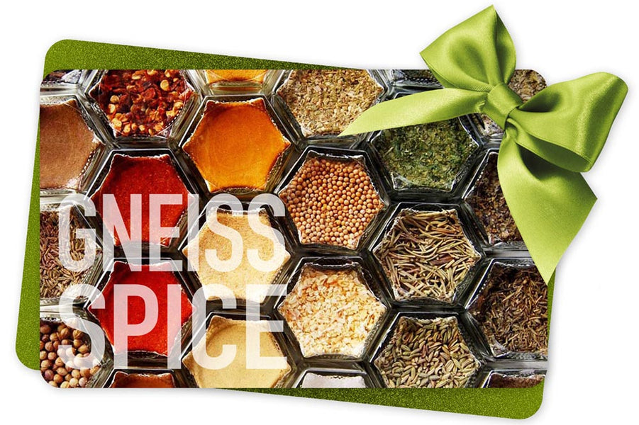 Gneiss Spice Gift Cards