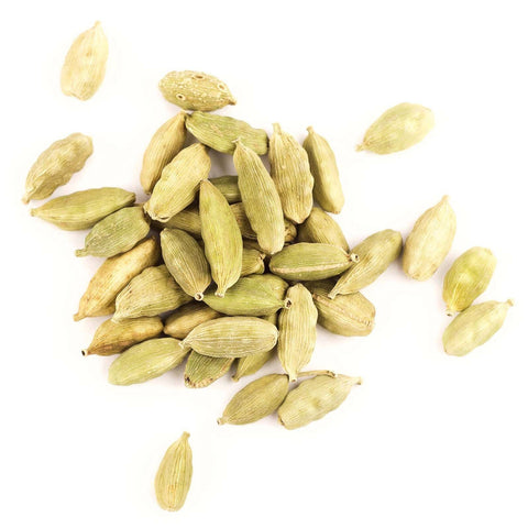 Organic green cardamom pods for jar refills