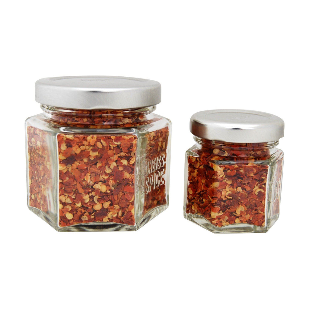 Magnetic Spice Jar - Single Personalized Large Empty Jar - Gneiss Spice