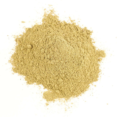 Poultry rub organic spice refill, blend of sage, thyme, onion, black pepper, marjoram, celery seed, cayenne.