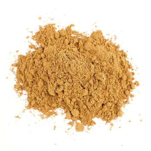 Pumpkin Pie organic spice refill, a mix of cinnamon, ginger, nutmeg, clove.