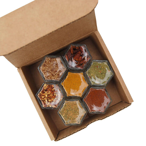 SPICY KIT | 7 Organic Seasonings to Turn Up the Heat and Spice Up The Kitchen - Gneiss Spice