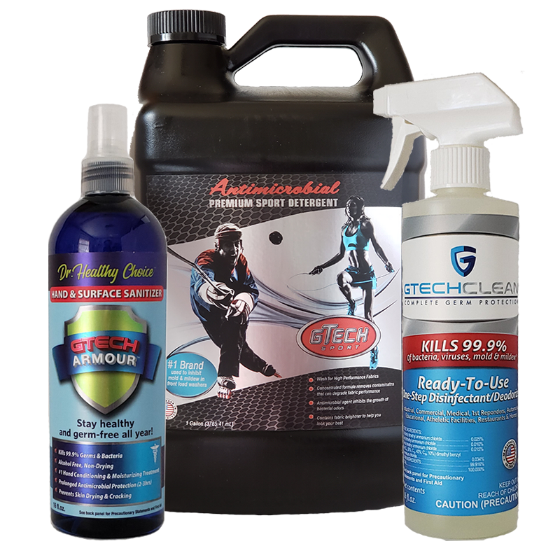House Cleaning Protection Pack-1 gallon Detergent, 1 each 16 oz Gtech Clean and Gtech Armour