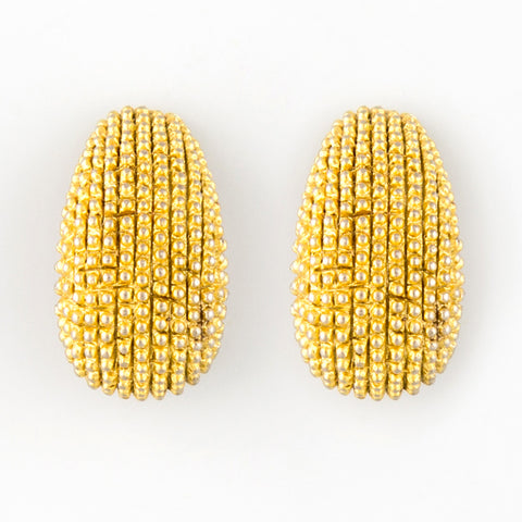 All dotty statement earrings