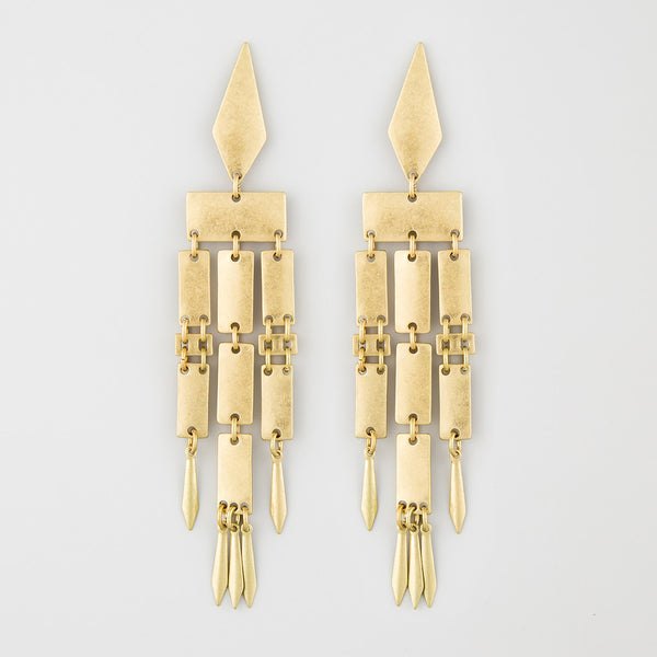 Aark candles statement earrings
