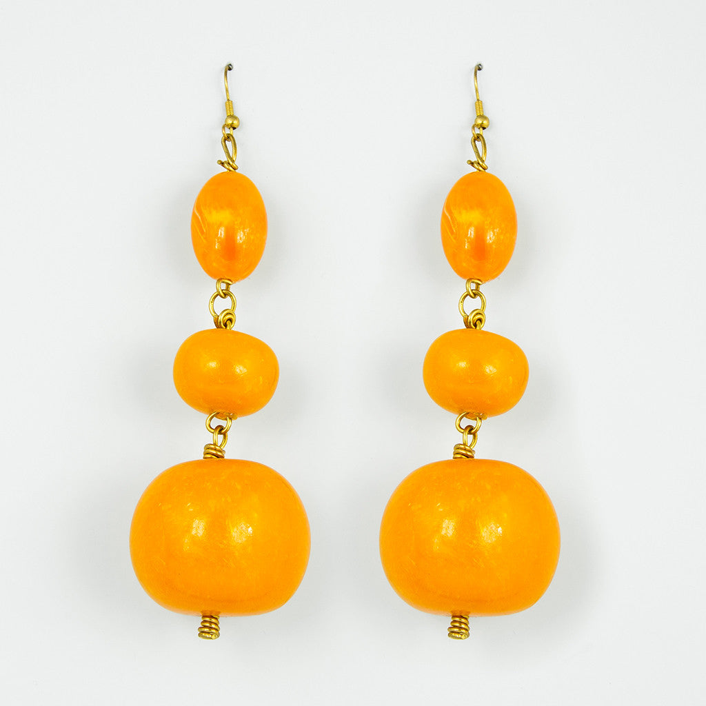 Alexa boulder statement earrings