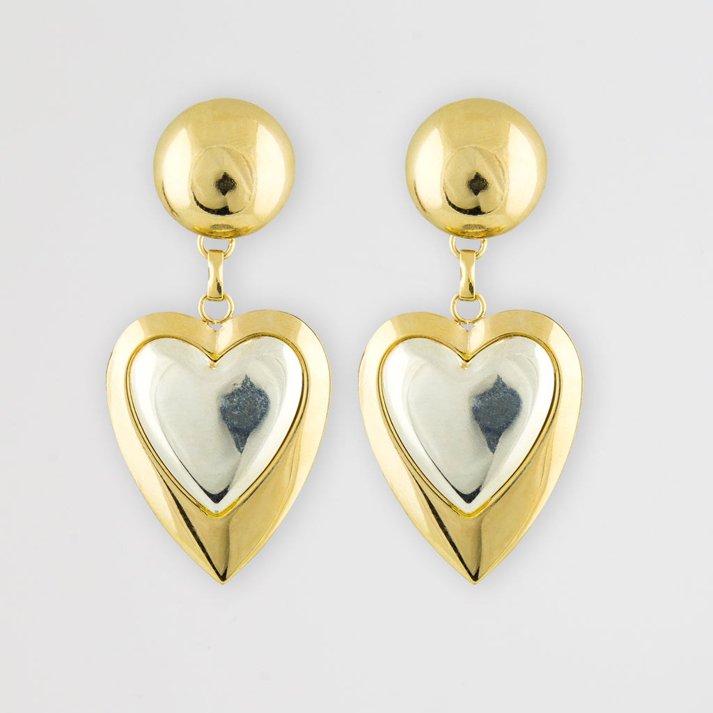 Amour j'dore statement earrings